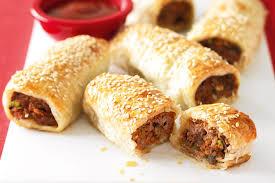 turkey sausage rolls