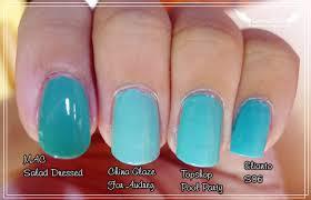tiffany blue nail polish gel nails filing