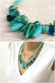 bead rope necklace images Seed bead necklace chunky turquoise necklace bead crochet rope jpg