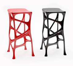 stool linon home decor townsend adjustable height dark brown