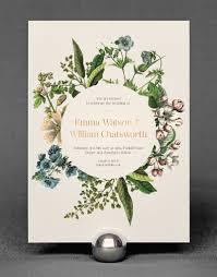wedding invitations rose wildflower invitation the foil invite company