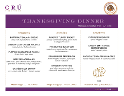 thanksgiving dinner salad 2014 thanksgiving guide where to pre order meals and dine out d