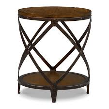 Accent Table Decor Coffee Table Thin End Table Living Room Small Round Table For