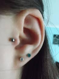 second ear piercing earrings ear piercings la