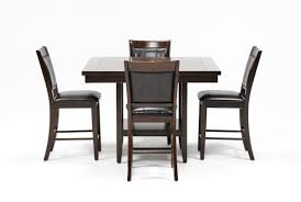 Living Spaces Dining Room Sets Harper 5 Piece Counter Set Living Spaces