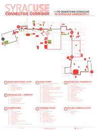 Suny Oswego Map Connective Corridor U2013 Printable Map