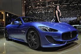 blue maserati quattroporte 2013 maserati granturismo sport auto cars concept