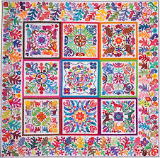 fabric photo album a boy and a girl album from glorious color kaffe fassett