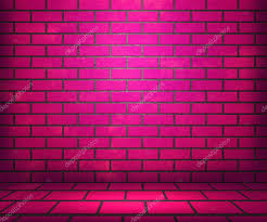 pink brick stage background u2014 stock photo backgroundstor 22315475