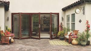 Wooden Bifold Patio Doors Jeld Wen W 4500 Wood Folding Patio Door Professional Builder