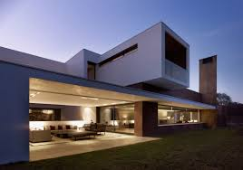 imposing house with volumes and a sense of privacy by dahl