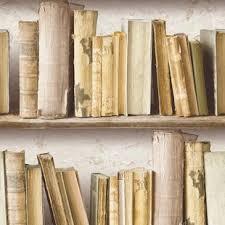 wallpaper that looks like bookshelves bookshelf wallpaper wayfair