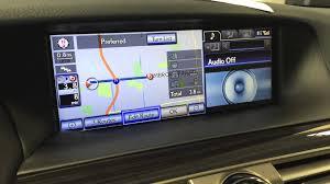 lexus ls430 navigation system update lexus navigation how to set your destination 3 ways youtube