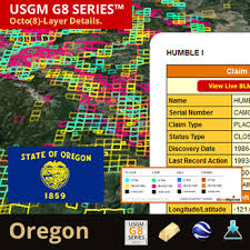 map of oregon gold mines oregon us gold maps g8 series placer lode tunnel mill mining