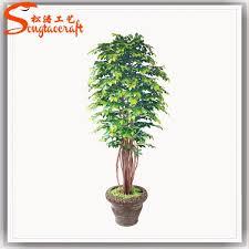 factory cheap wholesale outdoor artificial bonsai tree for