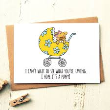 i it s a puppy card baby shower card gift ideas