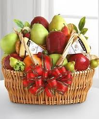 fruit basket delivery deluxe fruit cheese basket gift basket delivery carithers flowers