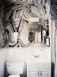 wallpaper bathroom ideas 6 gorgeous small bathroom ideas one kings lane