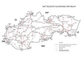 Slovakia Map Slovakia Railways Skyscrapercity