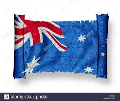 Austrslia Flag Australia Flag National Australia Flag Blow National Pictogram