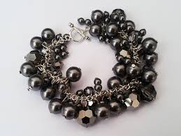 diy crystal bead bracelet images Pretty quirky pants diy swarovski pearl cluster bracelet jpg
