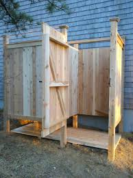 Outdoor Shower Bench Outdoor Shower Stalls Hundreds Of Custom Outdoor Showers Many