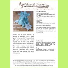 reusable gift bag crochet pattern pdf gift packaging drawstring