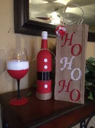 How To Decorate A Wine Bottle Best 25 Decorated Wine Glasses Ideas On Pinterest Christmas