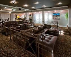 Houzz Media Room - media room seating houzz