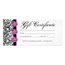 printable gift voucher template printable gift certificatesample