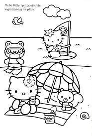 kitty mermaid coloring pages colouring pictures kitty