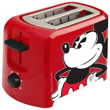 Top Rated 2 Slice Toasters Disney Mickey Mouse 2 Slice Toaster Red Dcm 21 Best Buy