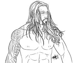 hd wallpapers roman reigns coloring pages kzs eiftcom press