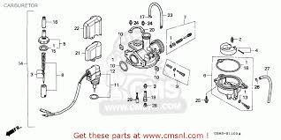 honda sfx honda sfx50 1995 s spain carburetor schematic partsfiche