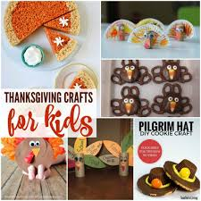 easy thanksgiving crafts and recipes for kids