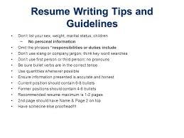guidelines for what to include in a resume resume writing july 18 resume writing topics resume writing