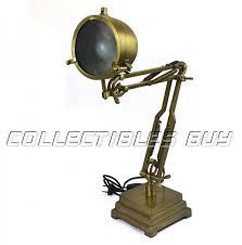 Vintage Brass Table Lamps Vintage Brass Table Lamp Adjustable Retro Look Antique Industrial