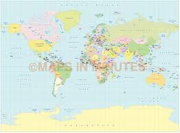 Siberia On World Map by Digital Vector World Political Small Scale Map Collection 10 Maps