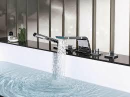 kitchen ikea ringskar white and black tv unit gooseneck faucet