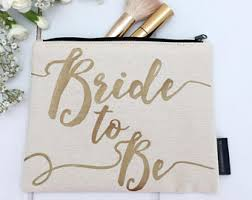 bridal makeup bag wedding bags purses etsy