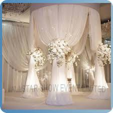 wedding arches and columns wholesale wholesale draped mandap buy draped mandap wedding