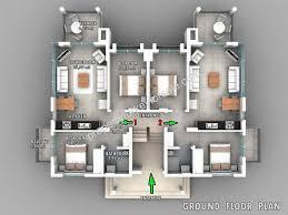 three bedroom ground floor plan off plan ovacik apartment mountain views 3 bedrooms for sale