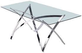 glass and metal dining table dark walnut dining table with tempered rectangular glass top