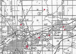 Map Of Holland Michigan by The Aussicker Bazan Crittenden Dumville Von Ins Families
