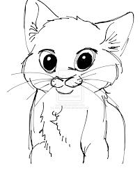 cute cat face drawing free download clip art free clip art