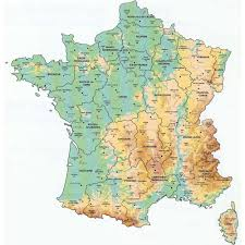 Map Of East And West Germany by Maps Of France U2013 Bonjourlafrance