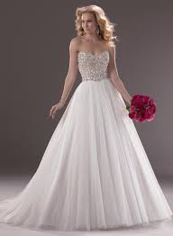 wedding dresses sweetheart neckline ball gown strapless with bling