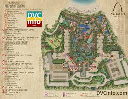 Walt Disney World Resorts Map by Aulani A Disney Resort U0026 Spa Dvcinfo Com