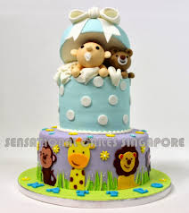 the sensational cakes baby in a box 3d cake teddy bear cake