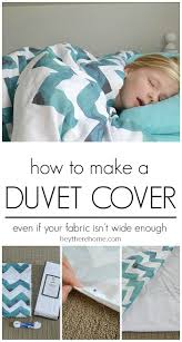 how to m how to make a duvet cover